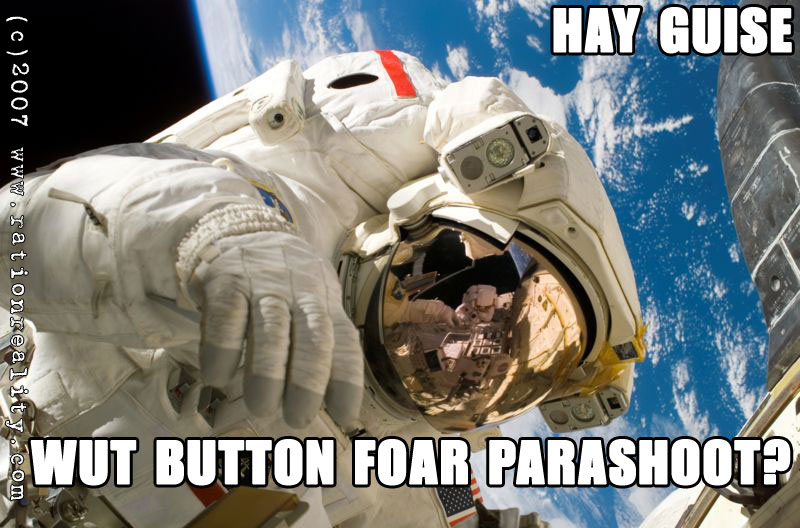 wut button for parashoot
