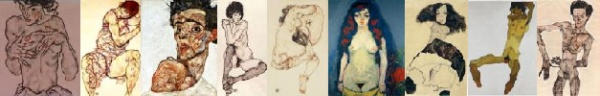 nine by egon schiele