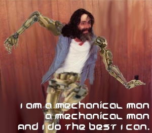 dancing mechanical manson